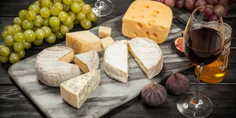 Wine Tasting? 3 Wine & Cheese Pairings to Try, Lakeville, Minnesota