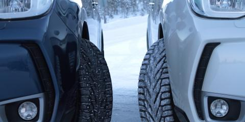 What's the Difference Between Studded & Studless Snow Tires?, Anchorage, Alaska