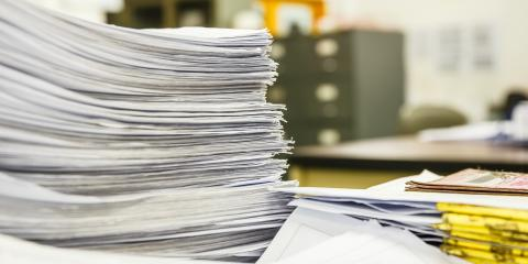 5 Tips for Storing Paper Documents Long-Term, High Point, North Carolina