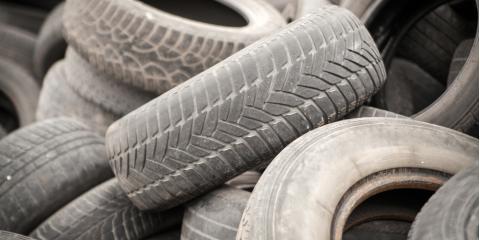4 Creative Ways to Recycle Used Tires, Kannapolis, North Carolina
