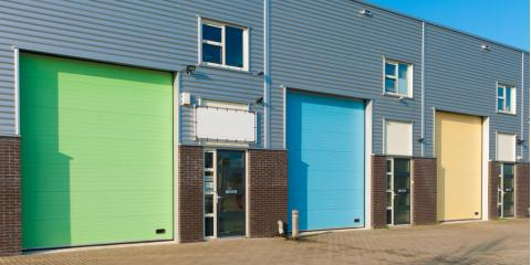 4 Most Popular Commercial Garage Door Designs, Blaine, Minnesota