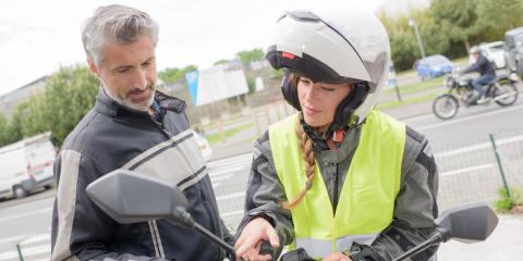 Take Motorcycle Safety Classes at Cincinnati's Top Trade School, Green, Ohio
