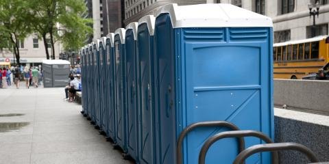 How to Keep Portable Toilets From Tipping Over, Fairbanks, Alaska
