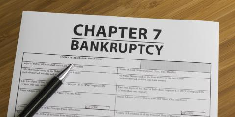 What Are the Advantages of Declaring Chapter 7 Bankruptcy?, Southaven, Mississippi