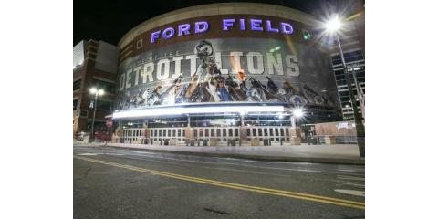 Detroit's Ford Field Stadium Lighting, Tipp City, Ohio