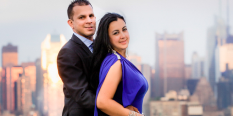 Spring Engagement Photography Ideas From New York Photographer, West New York, New Jersey