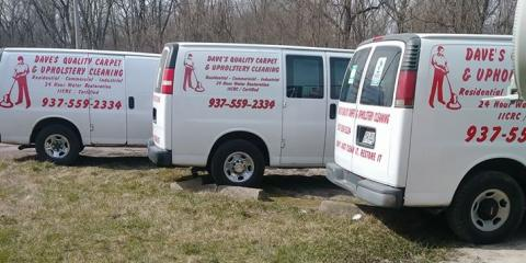 Dave's Quality Carpet & Upholstery Cleaning, Carpet Cleaning, Services, Dayton, Ohio