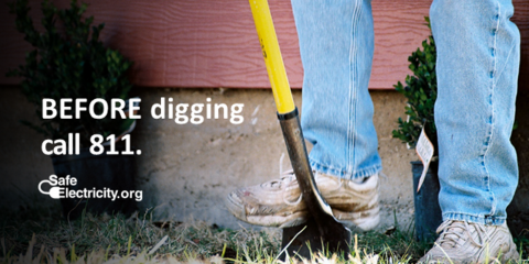 CALL 811 BEFORE YOU DIG!, Hernandez, New Mexico