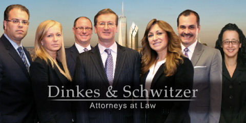 Dinkes & Schwitzer, Attorneys, Services, New York, New York
