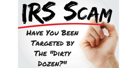 "The 2018 IRS ""Dirty Dozen"" -- Part 3, Greensboro, North Carolina"