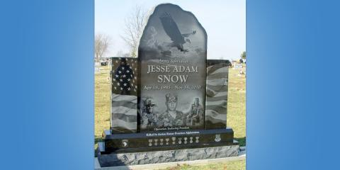 Honoring the Services of Those Who Have Passed: Dodds Monuments Makes Beautiful Veterans' Memorials , Middletown, Ohio