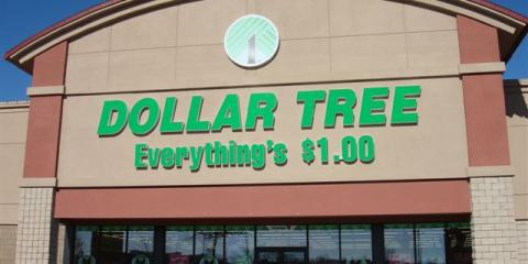 Dollar Tree, Retail, Shopping, Florence, Alabama
