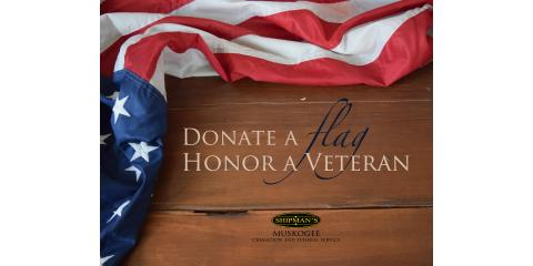 Donate A Flag Honor A Veteran, Muskogee, Oklahoma