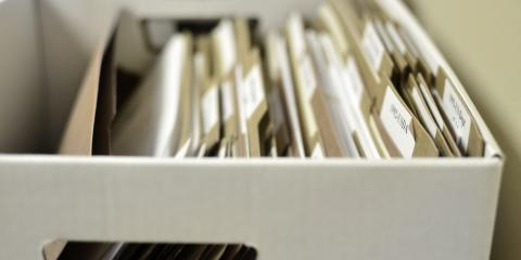 Do's & Don'ts of Storing Documents, Maud-Redwater, Texas