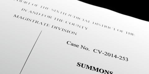 Responding to a Civil Litigation Suit, Dothan, Alabama