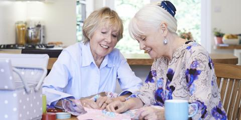 How Sewing Benefits Senior Citizens, Dothan, Alabama