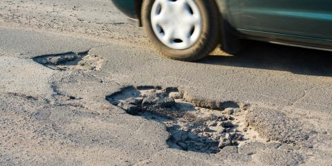 3 Car Parts to Check After Hitting a Pothole, Kalispell, Montana