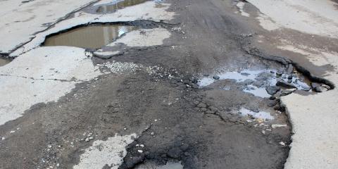 3 Common Reasons Potholes Form, Kalispell, Montana