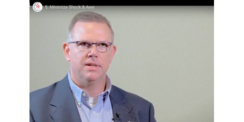 Keys to Exceptional Client Service #5 -- Minimize Shock & Awe, High Point, North Carolina