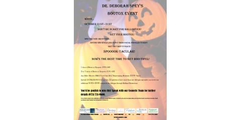 Dr. Deborah Spey's Bootox Event, West Orange, New Jersey
