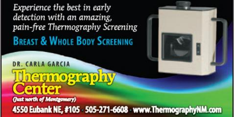 ThermographyCenter, Integrative Medicine, Health and Beauty, Albuquerque, New Mexico