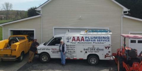 AAA Plumbing Repair Service , Plumbing, Services, Roanoke, Virginia