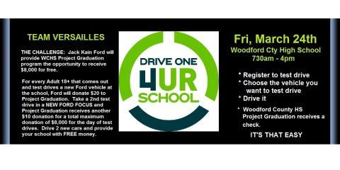 Drive4URSchool, Versailles, Kentucky
