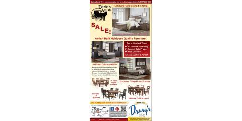 Daniel's Amish Sale!, Fountain, Minnesota