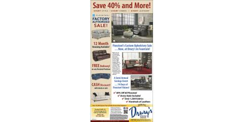 Flexsteel Factory Authorized Sale, Fountain, Minnesota