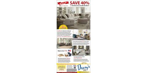 Save 40% on Smith Brother's Furniture!, Fountain, Minnesota