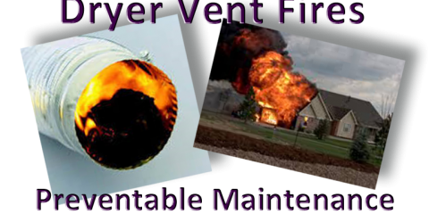 Clogged Dryer Vents Cause Fires And Can Damage Your Dryer