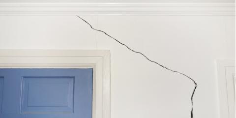 4 Common Causes of Drywall Cracks, Andover, Minnesota