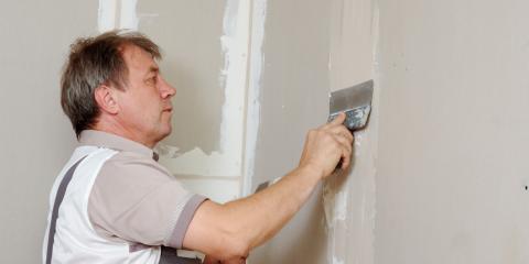 3 Common Causes of Drywall Cracks, Perinton, New York