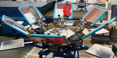 Understanding the Screen Printing Process, Anchorage, Alaska