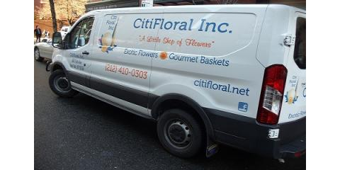 CitiFloral's ​Experience & Street Savvy Make Same-Day NYC Floral Deliveries Possible, Manhattan, New York
