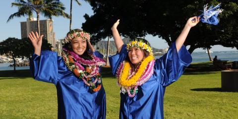 Hawaii's Best Flower Shop Is Now Taking Graduation Lei Orders, Honolulu, Hawaii