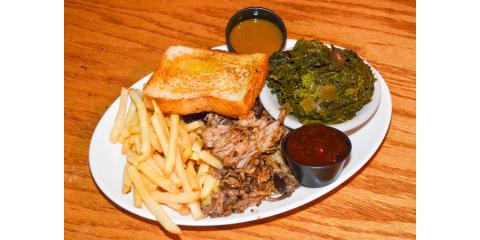 Our pulled pork is smoked for 8 hours before we top it with our house made bbq sauce., Lexington-Fayette, Kentucky
