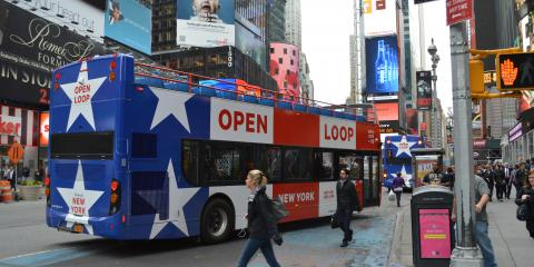 Top 3 Cafés in NYC From The City's Leading Sightseeing Bus, Manhattan, New York