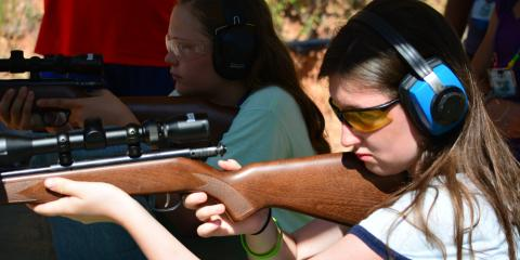 Why we offer riflery, archery, and clay shooting (only for teens) at camp, Bowie, Texas