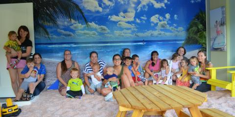 Salt Therapy play date at The Salt Box, Parkland, Florida
