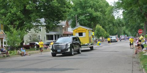 Another River City Days Parade in the history books!  LAWRENCE REALTY has been doing this a long time, but....., Red Wing, Minnesota
