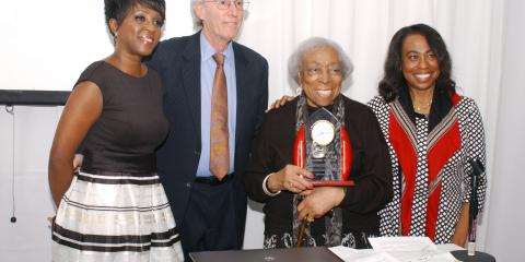 Helene Fuld College of Nursing Honors Trailblazer Mildred Norman, Manhattan, New York