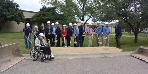 CMHS hosts Grounbreaking for Hospital Renovation an Expansion Project , Gatesville, Texas