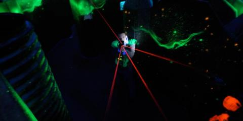 3 Examples of Laser Tag's Place in Pop Culture, North Hempstead, New York
