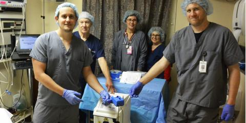 CMHS gets New Laser Treatment for Varicose Veins, Gatesville, Texas