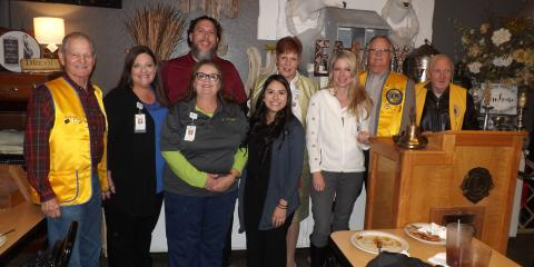 RehabLiving Shares About New Therapy Wing To Lion's Club, Gatesville, Texas