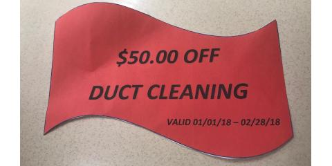 GET $50 OFF DUCT CLEANING, Douglas, Georgia