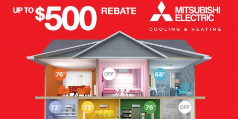 Receive Up to $500 Off a New Ductless Heating Unit, New Rochelle, New York