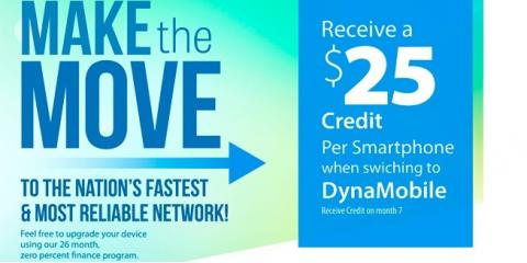 Voice Services: Receive A $25 Credit Per Smartphone!, Manhattan, New York