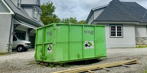 Why You Shouldn't Overfill a Dumpster Rental, Batavia, Ohio